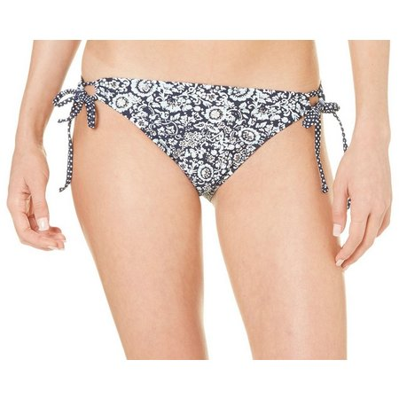 Hot Water Juniors Weekender Shirred Swim Bottoms