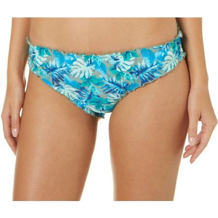 44ff797ad9b67 Hot Water Juniors Floral Print Reversible Swim Bottoms