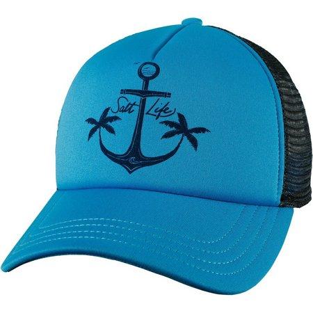 Salt Life Juniors Shady Anchors Baseball Hat