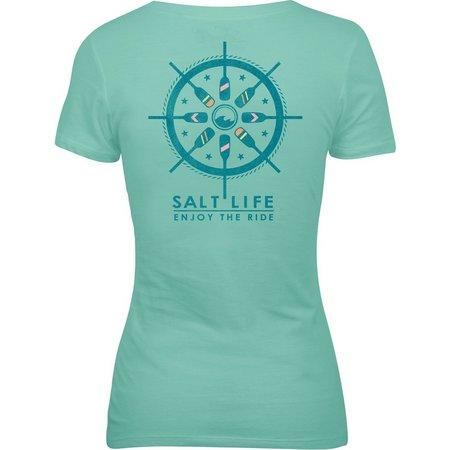 Salt Life Juniors Enjoy The Ride Knit T-Shirt