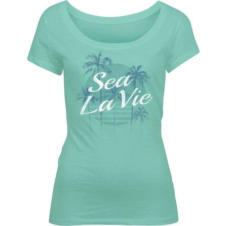 Salt Life Juniors Sea La Vie Print Knit