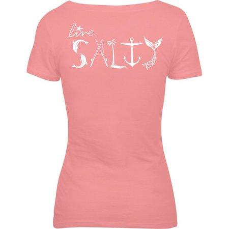 Salt Life Juniors Live Salty T-Shirt