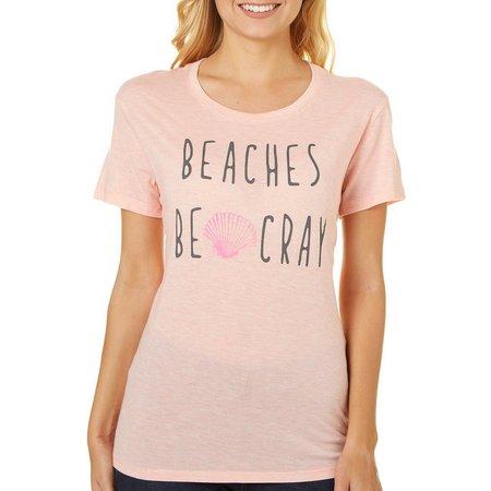 Reel Legends Juniors Beaches Be Cray T-Shirt