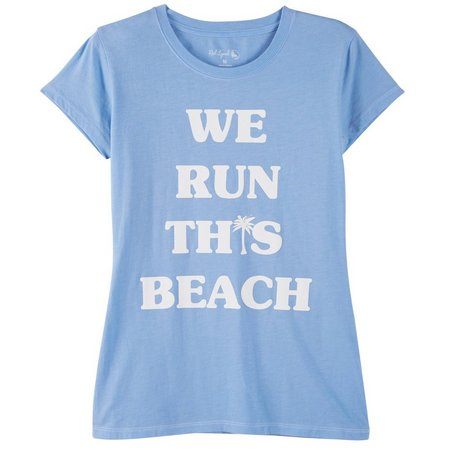 Reel Legends Juniors We Run This Beach T-Shirt