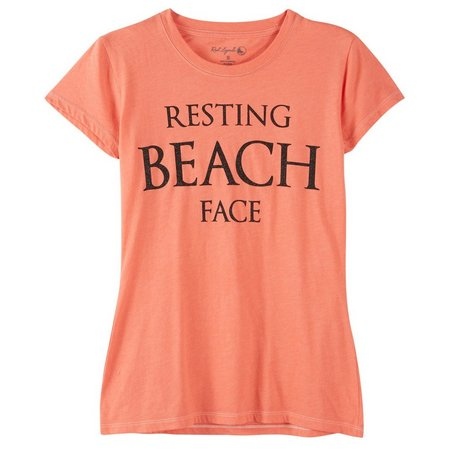 Reel Legends Juniors Resting Beach Face T-Shirt