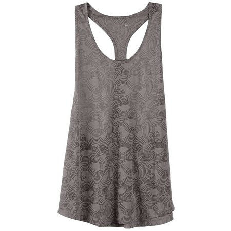 Reel Legends Juniors Burnout Swirl Print Tank Top