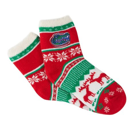Florida Gators Juniors UF Christmas Socks