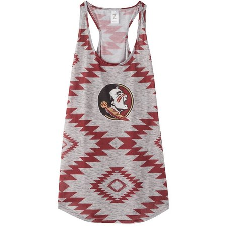 Forida State Juniors Southwest Mascot Tank Top