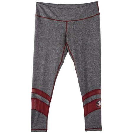 Florida State Juniors FSU Mesh Inset Leggings