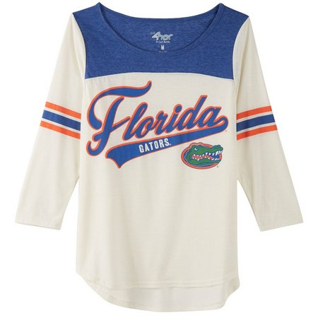 Florida Gators Juniors Endzone Colorblock T-Shirt