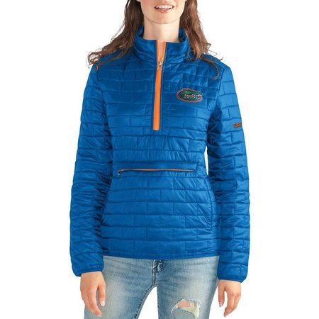 Florida Gators Juniors Zip Front Puff Jacket