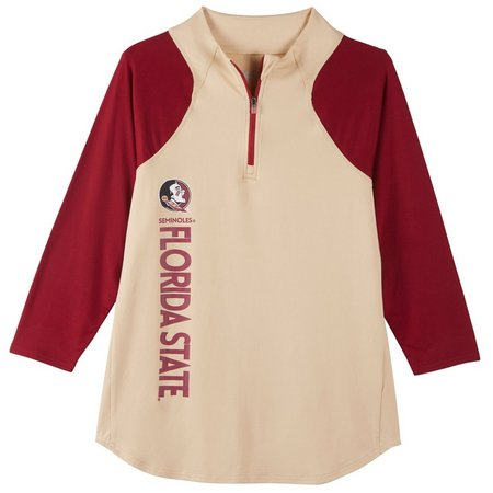 Florida State Juniors Colorblock Zip Jacket