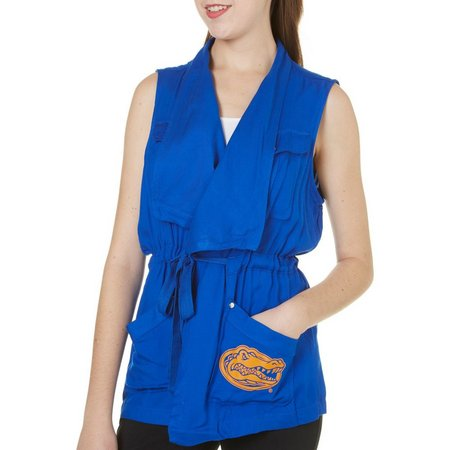 Florida Gators Juniors Wrap Front Military Vest