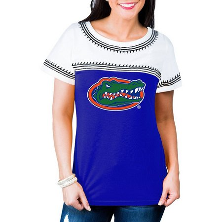 Florida Gators Juniors Aztec Mascot Screen T-Shirt