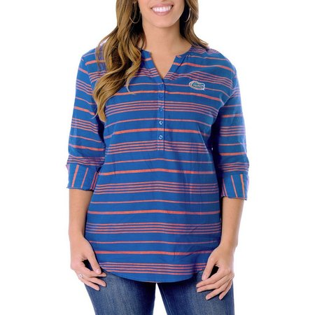 Florida Gators Juniors Striped Tunic Shirt