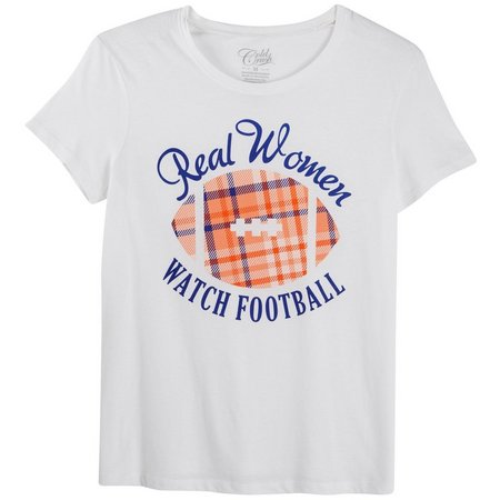 Hybrid Juniors Real Women Watch Football T-Shirt