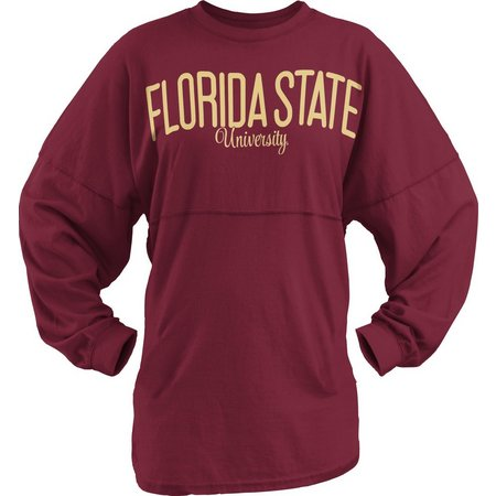 Florida State Juniors FSU Logo Long Sleeve T-Shirt