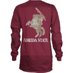 Florida State Juniors Back Logo Print T-Shirt