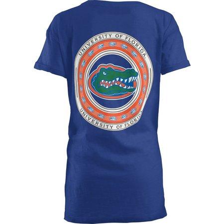 Florida Gators Juniors Screen Boyfriend T-Shirt