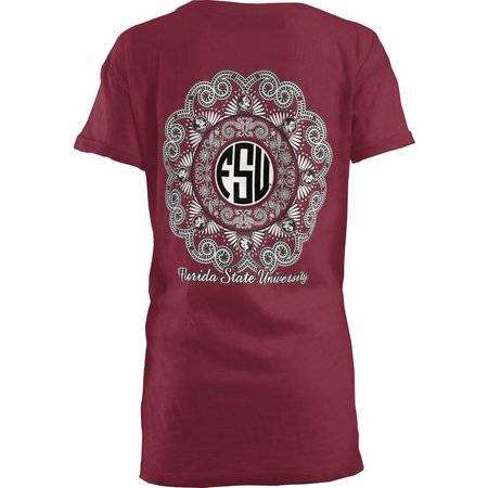 Florida State Juniors Medallion Boyfriend T-Shirt
