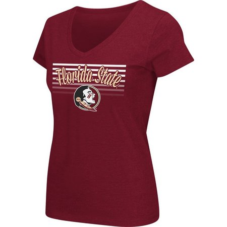 Florida State Juniors Mascot Stripe T-Shirt