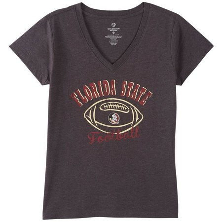 Florida State Juniors Football V-Neck T-Shirt