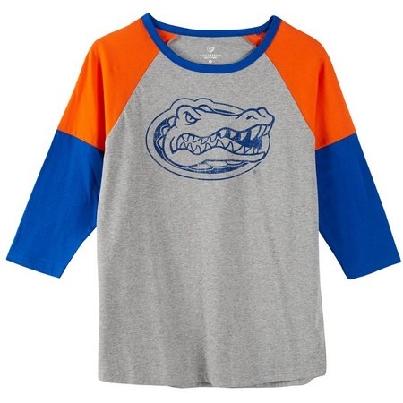 Florida Gators Juniors Colorblock Raglan Top