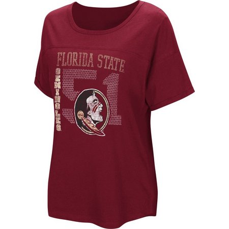 Florida State Juniors Oversized Screen T-Shirt