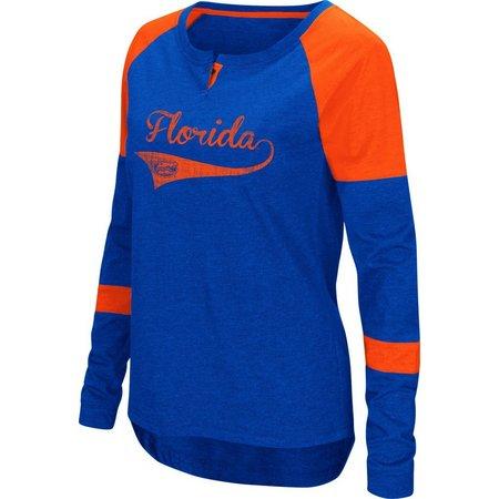 Florida Gators Juniors Colorblock Raglan T-Shirt