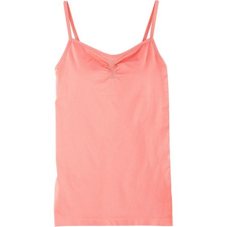 Derek Heart Juniors Touch Padded Cami Tank Top
