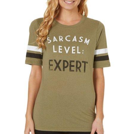 Hybrid Juniors Sarcasm T-Shirt