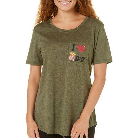 Hybrid Juniors Fryday Pocket T-Shirt