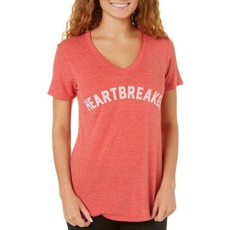 Hybrid Juniors Heartbreaker V-Neck T-Shirt
