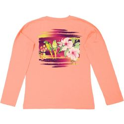 Guy Harvey Three Little Birds Long Sleeve Top