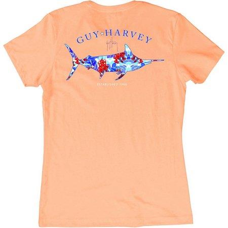 Guy Harvey Womens Fresh Floral T-Shirt