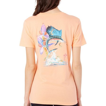 Guy Harvey Womens Sailfish Launch Tee