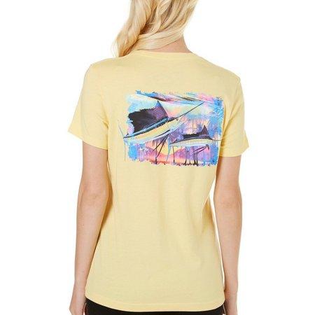 Guy Harvey Womens Two Sailfish T-Shirt