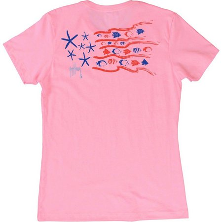 Guy Harvey Womens Sea Stars T-Shirt