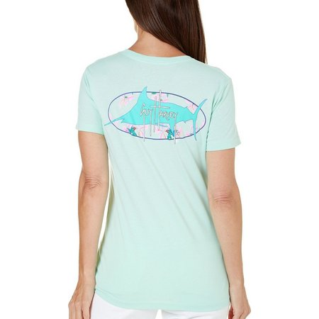 Guy Harvey Womens Full Bloom T-Shirt