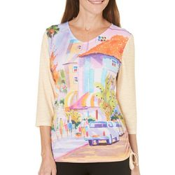 Ellen Negley Womens St. Armands Style Top