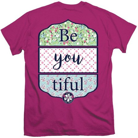 Its a Girl Thing Juniors Be-YOU-Tiful T-Shirt