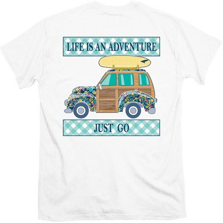 Its a Girl Thing Juniors Life Adventure T-Shirt