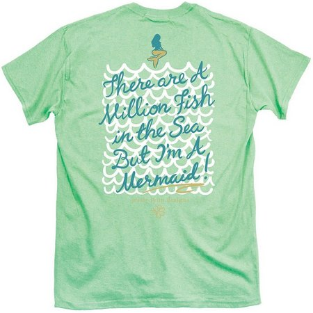 Its a Girl Thing Juniors Mermaid T-Shirt