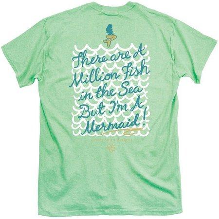 Its a Girl Thing Juniors Mermaid T-Shirt