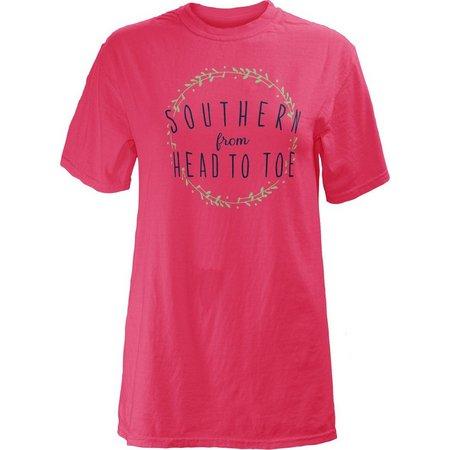 Royce Apparel Juniors Southern Head to Toe T-Shirt