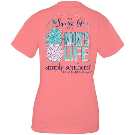 New! Simply Southern Juniors Mom's Life T-Shirt