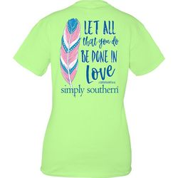 Simply Southern Juniors Be Done In Love T-Shirt