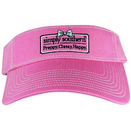 Simply Southern Juniors Preppy Visor Hat