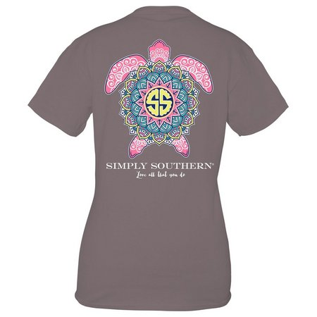 Simply Southern Juniors Boho Turtle T-Shirt