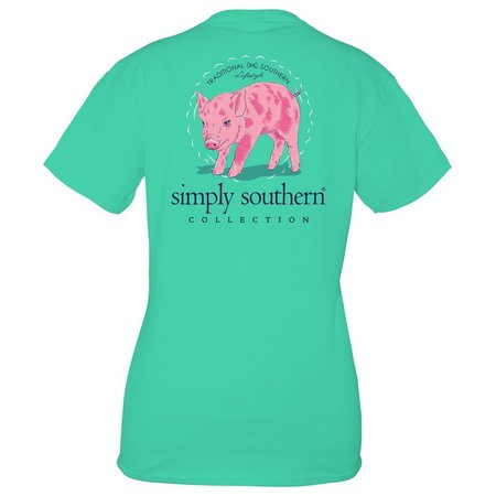 New! Simply Southern Juniors Piglet T-Shirt